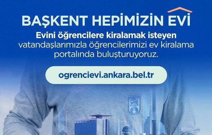 Ankara'da öğrenciler için kiralık ev portalı oluşturuldu