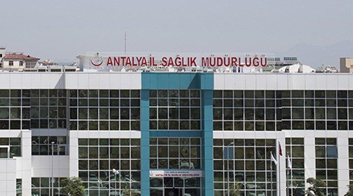 Antalya'da sağlık emekçilerinin izinleri durduruldu