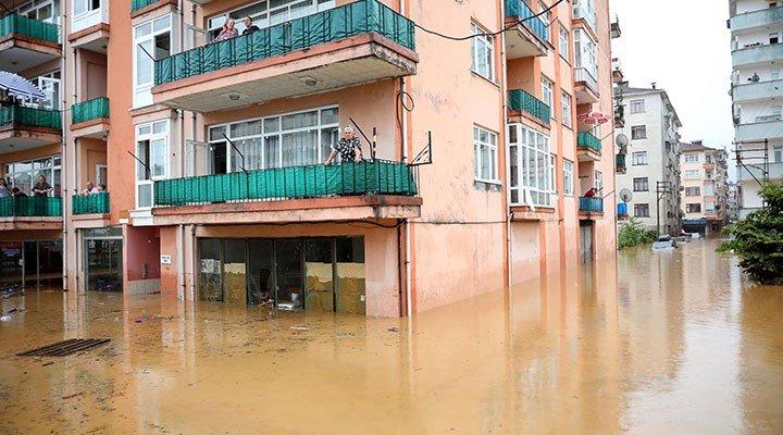 Artvin'de sel bilançosu: 39 yapı yıkıldı, bin 459'u hasarlı
