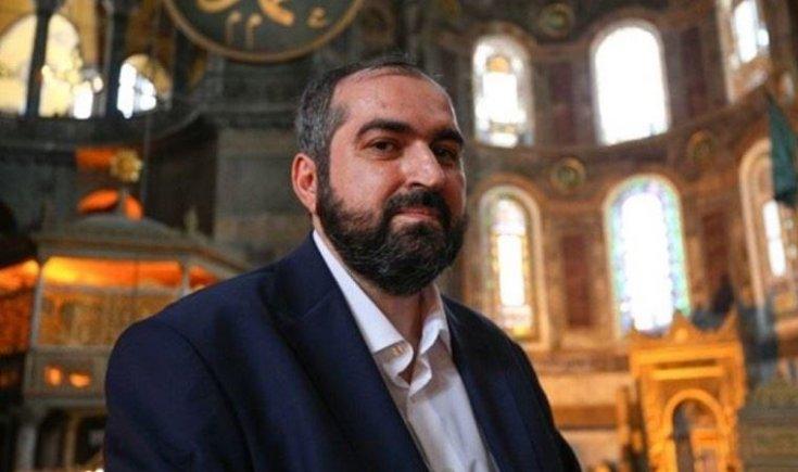 Ayasofya'nın baş imamı Mehmet Boynukalın istifa etti