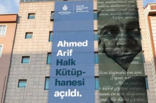 Aydın İleri: Ahmed Arif Halk Kütüphanesi İstanbul'a çok yakışacak