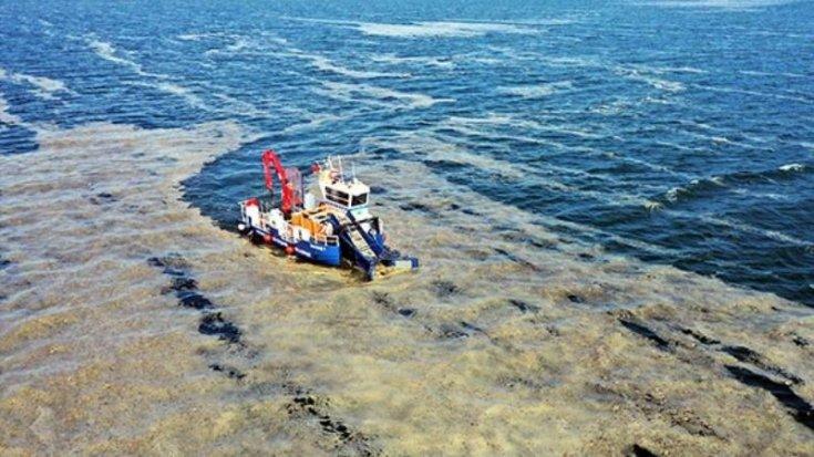 Bakan Kurum: 5 günde 1700 metreküp müsilaj temizlendi