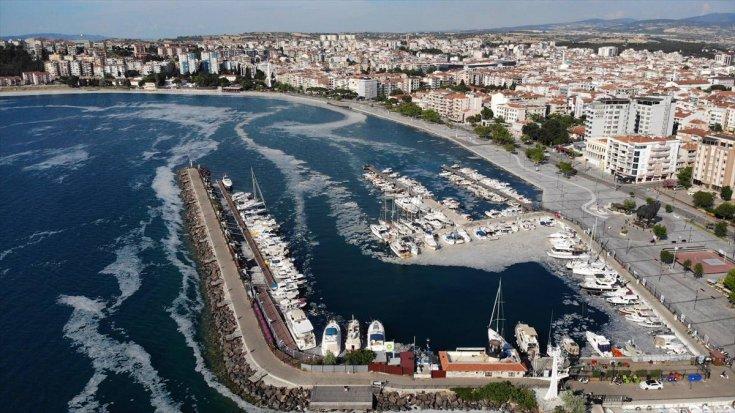 'Marmara Denizi'nden 7 günde 2 bin 684 metreküp müsilaj temizlendi'