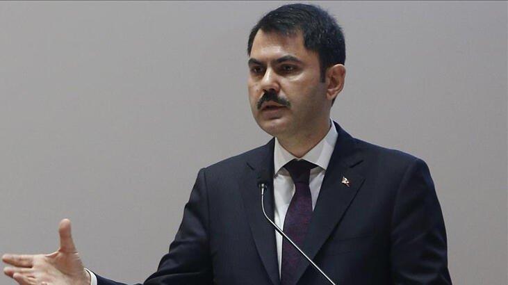 Bakan Kurum'dan Kanal İstanbul açıklaması: Yaz aylarında temelini atacağız