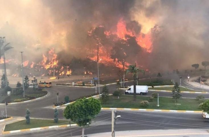 Bakan Pakdemirli: 3 günde 22 ilimizde meydana gelen 71 orman yangınının 57'sini kontrol altına aldık
