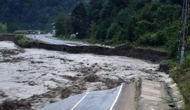 Bartın'da sel felaketi