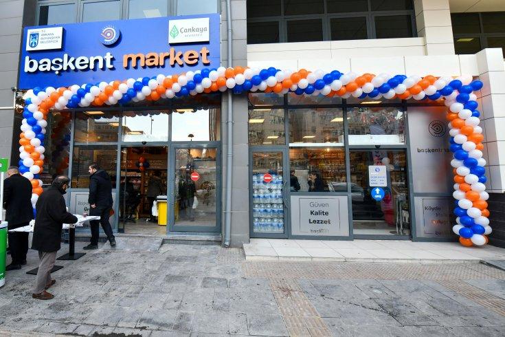 Başkent Market'in 4. şubesi açıldı