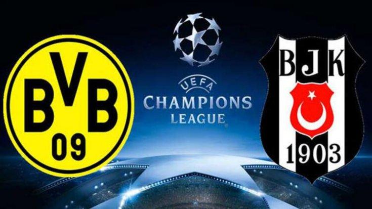 Beşiktaş Dortmund maçı saat kaçta hangi kanalda?