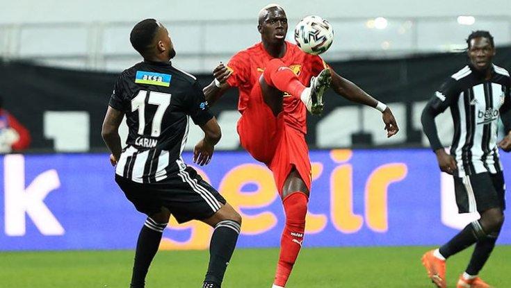 Beşiktaş, Göztepe'yi 2 - 1 mağlup etti