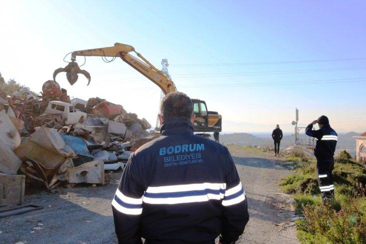 Bodrum Belediyesi geri dönüşüm ile ülke ekonomisine katkı sağlıyor