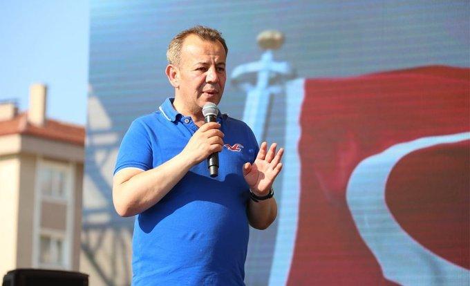 Bolu Belediye Başkanı Tanju Özcan, yabancı uyruklulara karşı kampanya başlattı #BuMisafirlikFazlaUzadı