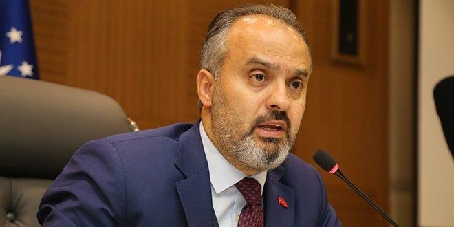 Bursa Büyükşehir Belediye Başkanı Alinur Aktaş koronavirüse yakalandı