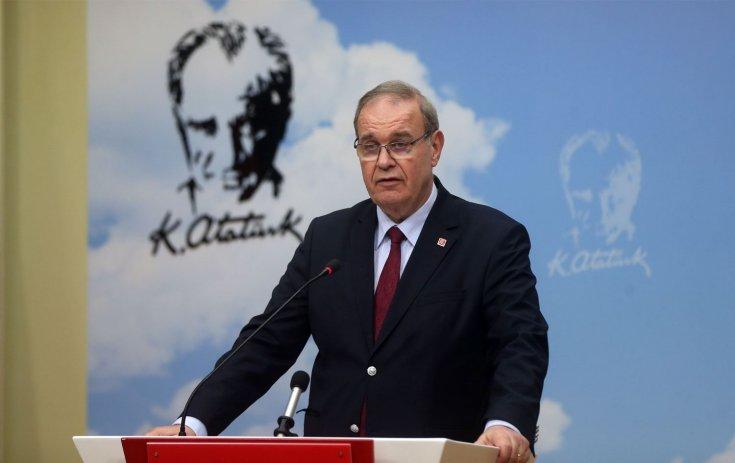 CHP Sözcüsü Faik Öztrak: Erdoğan'ın milletimize karşı şişen egoları Beyaz Saray karşısında iniveriyor