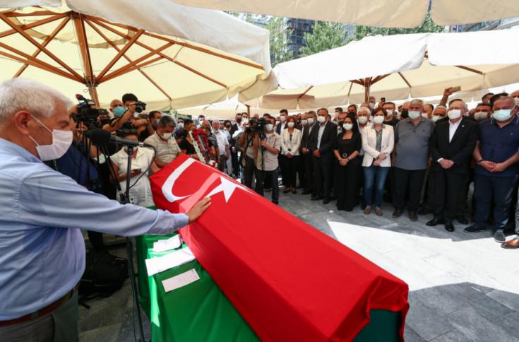 CHP'li Mehmet Ali Özpolat son yolculuğuna uğurlandı