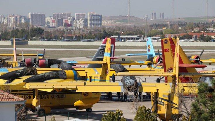 CHP'li Sümer: 'Yangın söndürme ihalesine 5 bin litre şartı getirildiği için THK'nin 4 bin 900 litre kapasiteli 9 uçağı ihale dışı bırakılmıştı'