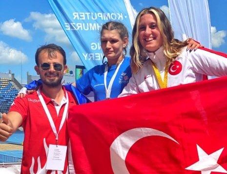 Dünya Para Atletizm Şampiyonası'nda Fatma Damla Altın'dan ikinci altın madalya