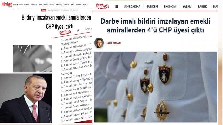 'Emekli amirallerin yakınlarının isim listesini Süleyman Soylu hazırladı'
