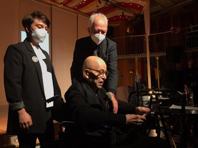 'Erdal Öz Edebiyat Ödülü'nün bu yılki sahibi Selim İleri oldu