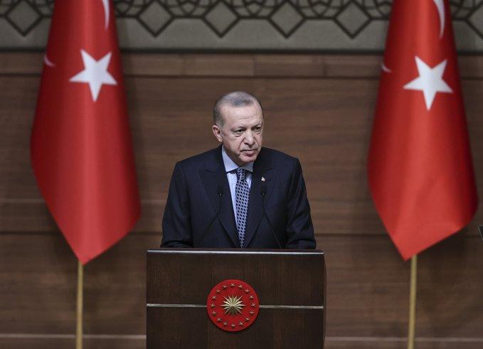 Erdoğan: Türkiye'yi yeniden baskı ve sefalet günlerine götürmek isteyenlere meydanı bırakmayacağız