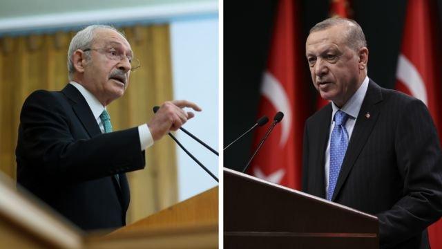 Erdoğan'dan Kılıçdaroğlu'na 500 bin liralık tazminat davası