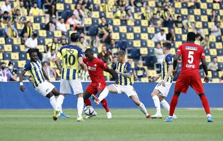 Fenerbahçe: 1 - Sivasspor: 1