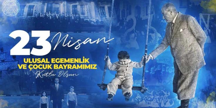 Fenerbahçe'den '23 Nisan' mesajı: 'Gazi Mustafa Kemal Atatürk'e minnettarız, geleceğin feneri çocuklara güveniyoruz'