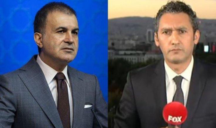 FOX TV muhabiri Barış Kaya'dan Ömer Çelik'e yanıt: 'Sorma' dediği soruları sorduğum için salona almadı