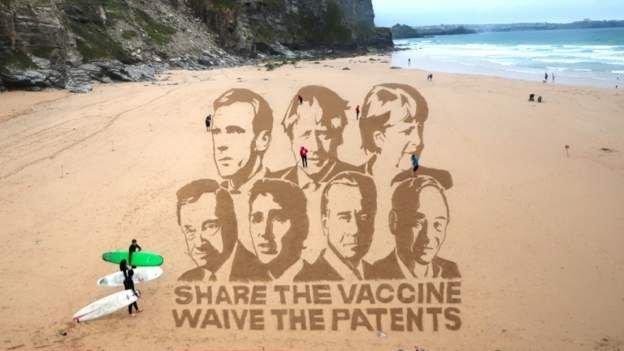 G7 liderlerine 'Aşıları paylaşın, teliften vazgeçin' çağrısı