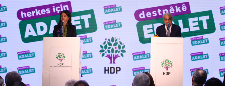 HDP'den 'Herkes için adalet' kampanyası