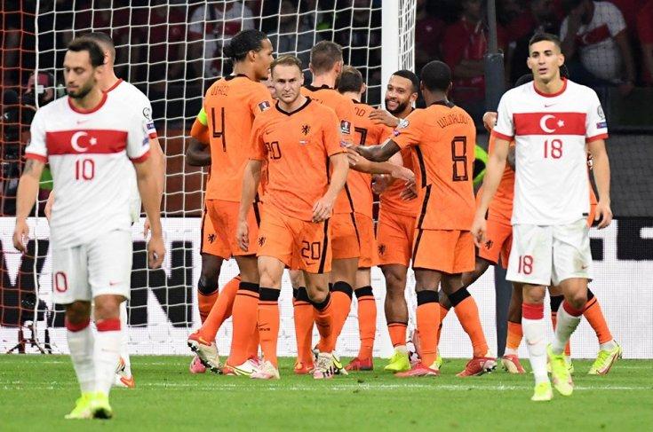 Hollanda 6-1 Türkiye