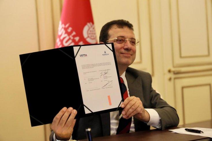 İBB ve USTDA arasında ikinci hibe anlaşması: 'İstanbul'un geleceği açısından çok değerli bir projenin altına imza attık'