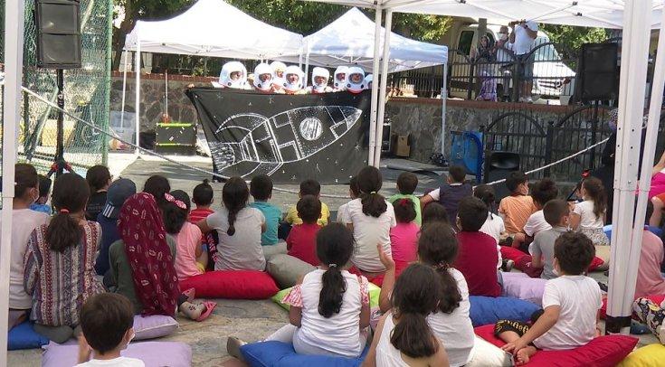 İBB'den çocuklar için 'oynaya oynaya' etkinliği