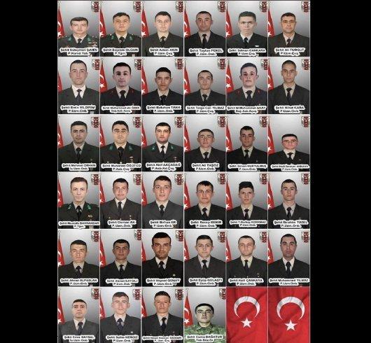 İdlib'de 34 askerimizin şehit edilmesinin üzerinden bir yıl geçti