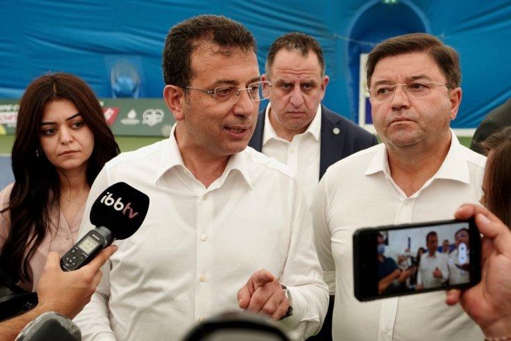 İmamoğlu'ndan 'Millet açsa, siz doyurun' diyen Erdoğan'a: Milletimiz aç, iyi ki bu dönemde vatandaşın yanında olan belediyeler vardı