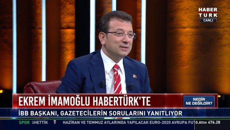 İmamoğlu; şu anda İstanbul ve tüm kentlerin en büyük sorunu yoksulluk