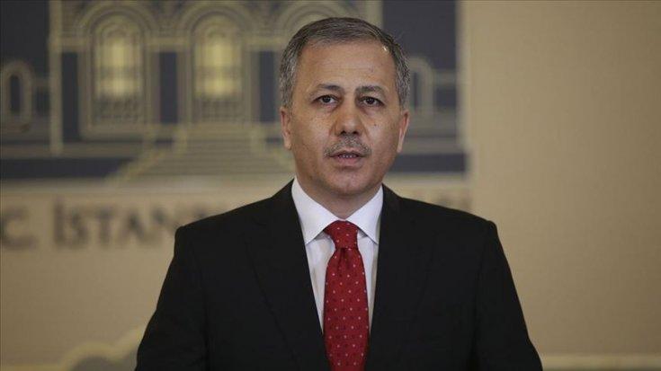 İstanbul Valisi Yerlikaya'dan 'aşılama' paylaşımı