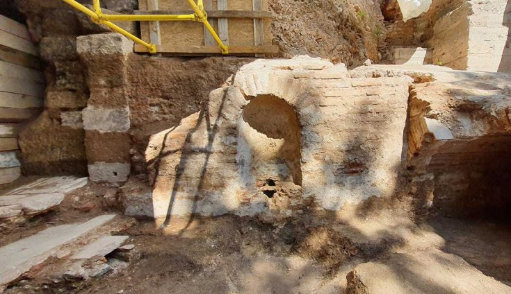 İstanbul'da 1600 yıllık Bizans Çeşmesi bulundu