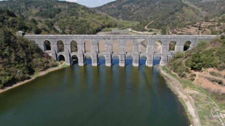 İstanbul'da barajların doluluk oranı yüzde 74,62