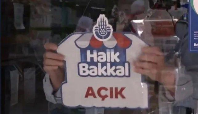 İstanbul'da 'Halk Bakkal' dönemi başlıyor