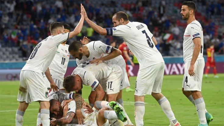 İtalya, Belçika'yı 2-1 yendi