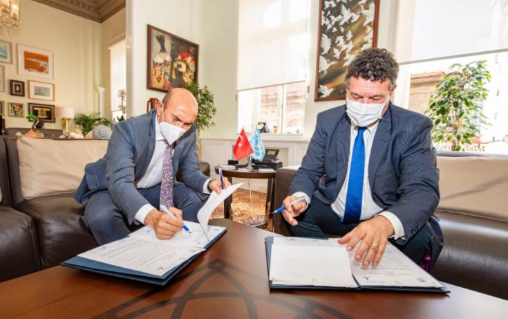 İzmir Büyükşehir Belediyesi ile BM arasında işbirliği mutabakatı