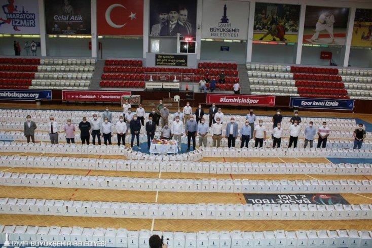 İzmir Büyükşehir Belediyesi'nden amatör spor kulüplerine destek