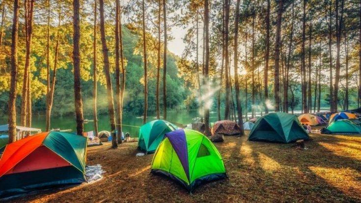 Karadeniz Bölgesi'nde 97 kamp alanı bulunuyor