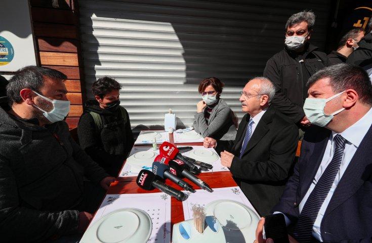 Kılıçdaroğlu: İktidar CHP'li belediyelere dua etsin, CHP'li belediyeler olmasa Türkiye'de kaos çıkar