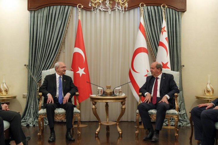 Kılıçdaroğlu KKTC'de bir dizi ziyarette bulundu