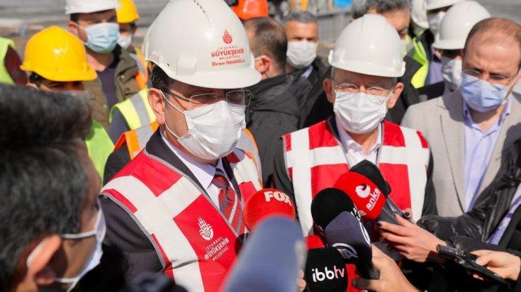 Kılıçdaroğlu ve İmamoğlu Halk Ekmek fabrikasını gezdi