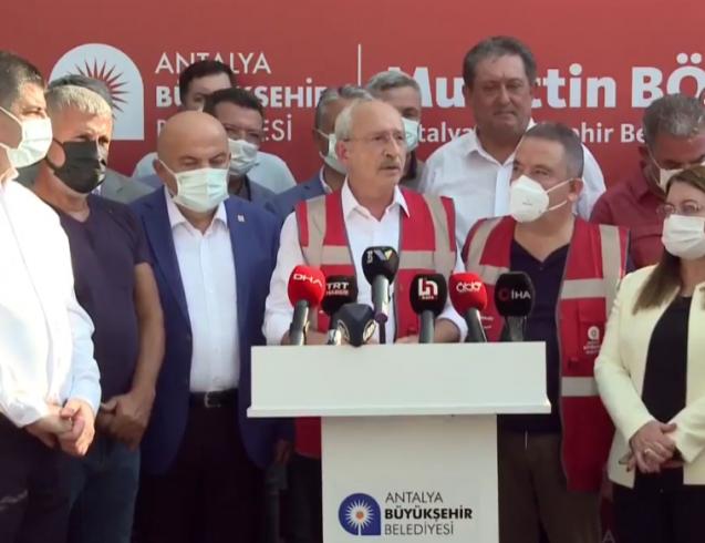 Kılıçdaroğlu'ndan Erdoğan'a 'yangın söndürme uçağı' tepkisi: Envanterde var, devleti bilmediği için böyle bir tabloyla karşı karşıyayız