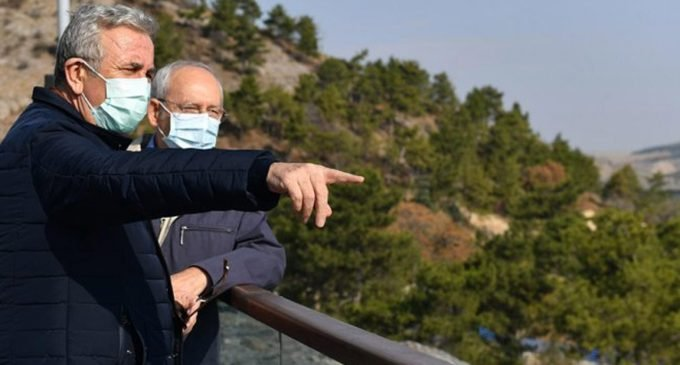 Mansur Yavaş'tan Kemal Kılıçdaroğlu'na destek ziyareti