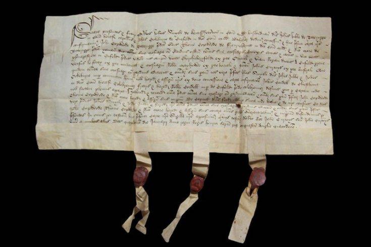 Orta Çağ'da dolandırıcılığı önlemek için koyun postu kullanılmış
