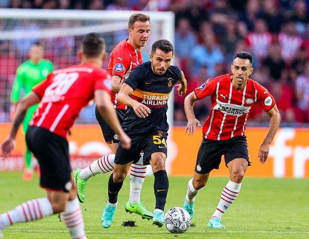 PSV Eindhoven, Galatasaray'ı 5-1 yendi